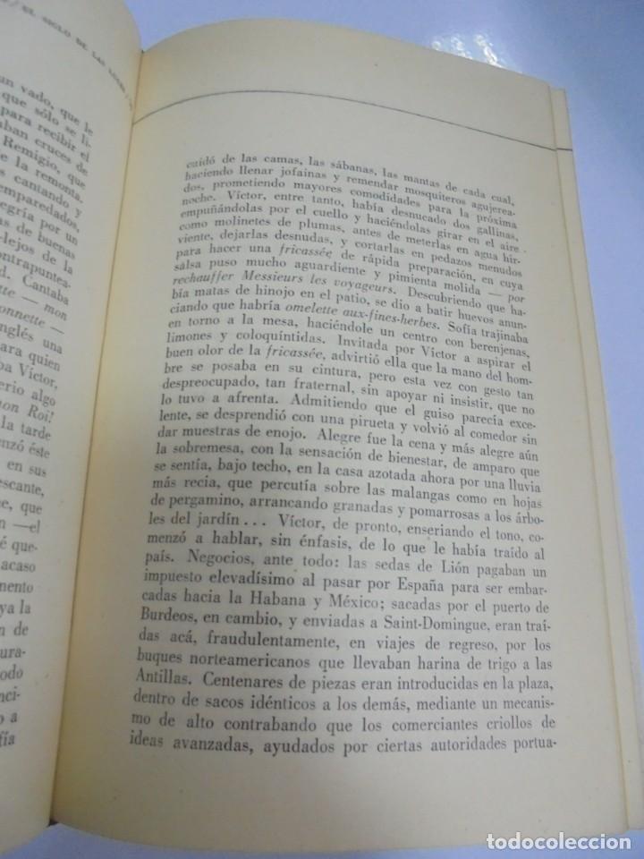 Libros de segunda mano: EL SIGLO DE LAS LUCES. ALEJO CARPENTIER. 1968. LETRAS CUBANAS. HABANA . CON FIRMA DE AUTOR. VER - Foto 6 - 133798146