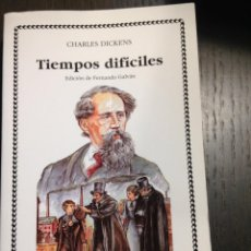 Libros de segunda mano: TIEMPOS DIFICILES CHARLES DICKENS CÁTEDRA Nº170 COMO NUEVO. Lote 134094770