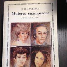 Libros de segunda mano: MUJERES ENAMORADAS D.H. LAWRENCE CÁTEDRA Nº102 NUEVO. Lote 134097694