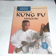 Libros de segunda mano: CHANG DSU YAO, ENCICLOPEDIA KUNG FU, SHAOLIN, ED, TUTOR. Lote 134342938