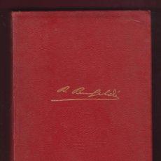 Libros de segunda mano: OBRAS COMPLETAS-BENITO PÉREZ GALDÓS,TOMO-III.EPISODIOS NACIONALES. EDI.AGUILAR. 1.805 PÁG. LL2635. Lote 134371950