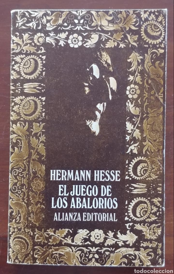 El juego de los abalorios Hermann Hesse Alianza editorial