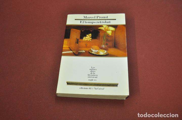 Libros de segunda mano: el temps retrobat - marcel proust - les millors obres de la literatura universal - molu s.XX - Foto 3 - 61345083
