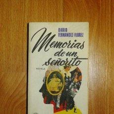 Libros de segunda mano: FERNÁNDEZ FLÓREZ, DARÍO. MEMORIAS DE UN SEÑORITO (EL ARCA DE PAPEL ; 58). Lote 135192858