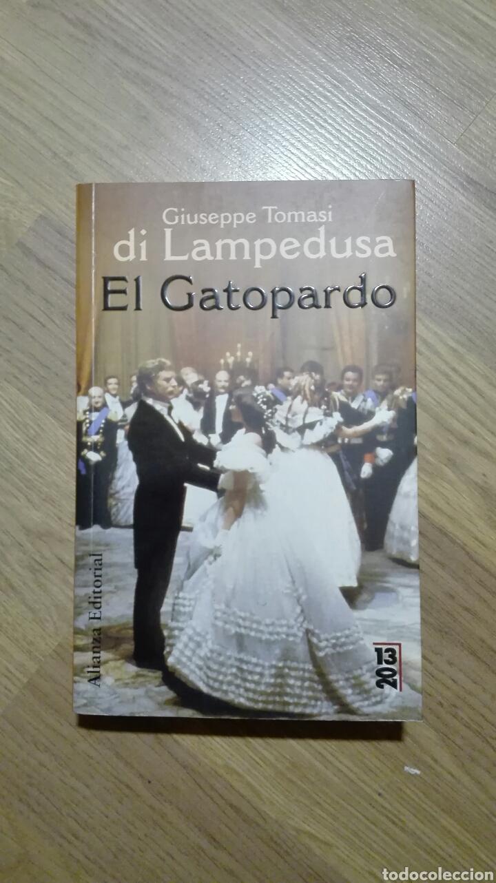 EL GATOPARDO. GIUSEPPE TOMASI DI LAMPEDUSA. (Libros de Segunda Mano (posteriores a 1936) - Literatura - Narrativa - Otros)