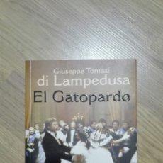 Libros de segunda mano: EL GATOPARDO. GIUSEPPE TOMASI DI LAMPEDUSA.. Lote 135532594