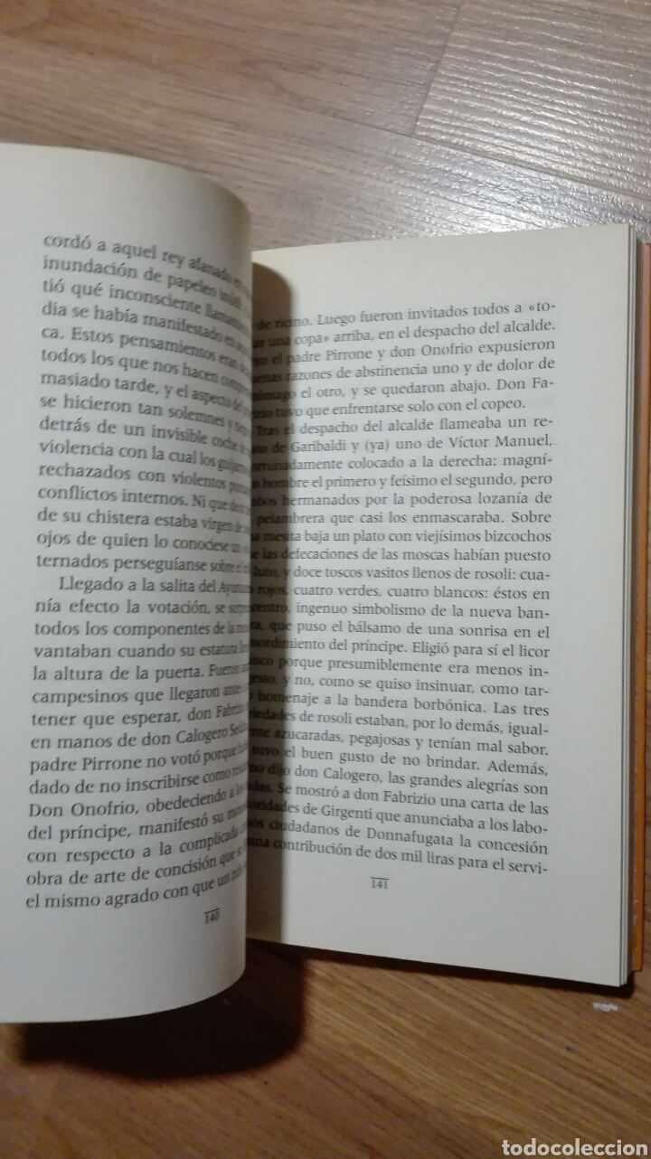 Libros de segunda mano: El Gatopardo. Giuseppe Tomasi di Lampedusa. - Foto 3 - 135532594
