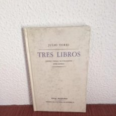 Libros de segunda mano - Tres libros - Julio Torri - Fondo de Cultura Económica - 135682235