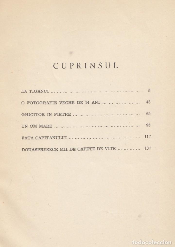 Libros de segunda mano: MIRCEA ELIADE. Nuvele (Novelas). Madrid, Destin, 1963. 149 pp. Texto en rumano. - Foto 2 - 135687815