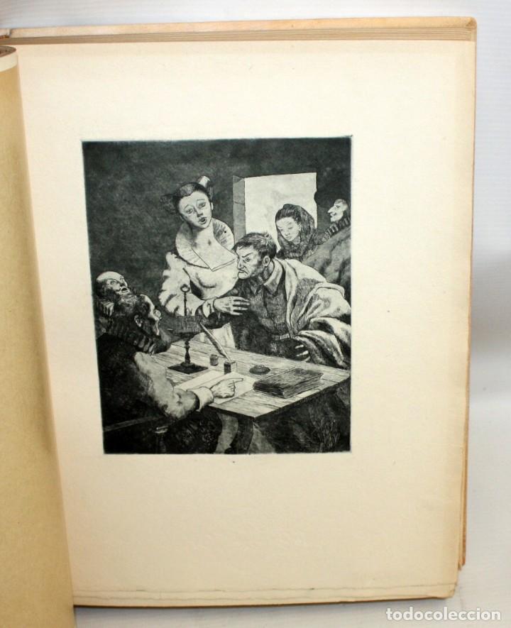 Gebrauchte Bücher: ENTREMESES X MIGUEL DE CERVANTES. 10 GRABADOS RAMON CAPMANY Y XILOGRAFIAS E.C. RICART NIN. NUMERADO - Foto 7 - 135771438
