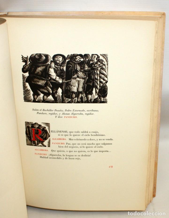 Gebrauchte Bücher: ENTREMESES X MIGUEL DE CERVANTES. 10 GRABADOS RAMON CAPMANY Y XILOGRAFIAS E.C. RICART NIN. NUMERADO - Foto 8 - 135771438