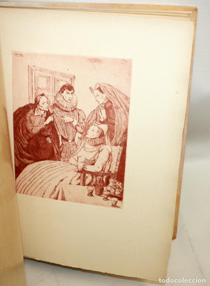 Gebrauchte Bücher: ENTREMESES X MIGUEL DE CERVANTES. 10 GRABADOS RAMON CAPMANY Y XILOGRAFIAS E.C. RICART NIN. NUMERADO - Foto 9 - 135771438