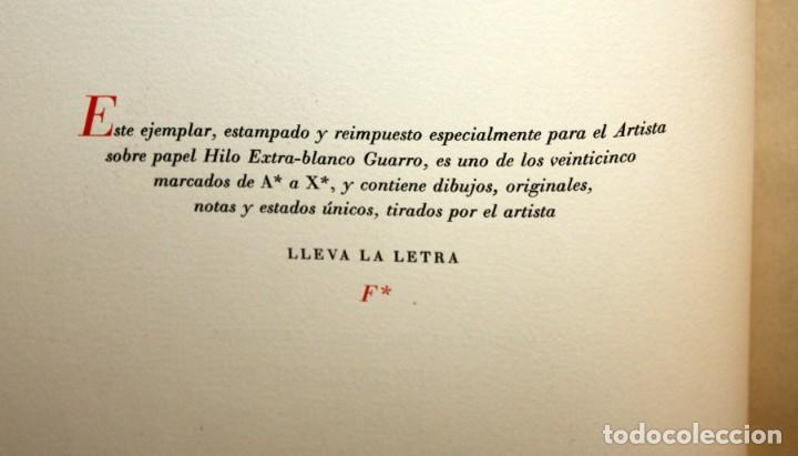 Gebrauchte Bücher: ENTREMESES X MIGUEL DE CERVANTES. 10 GRABADOS RAMON CAPMANY Y XILOGRAFIAS E.C. RICART NIN. NUMERADO - Foto 10 - 135771438