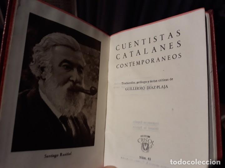 CRISOL Nº 63.- CUENTISTAS CATALANES CONTEMPORÁNEOS // AGUILAR 1944.1º EDICION (Libros de Segunda Mano (posteriores a 1936) - Literatura - Narrativa - Otros)