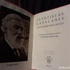 Libros de segunda mano: CRISOL Nº 63.- CUENTISTAS CATALANES CONTEMPORÁNEOS // AGUILAR 1944.1º EDICION . Lote 136148422