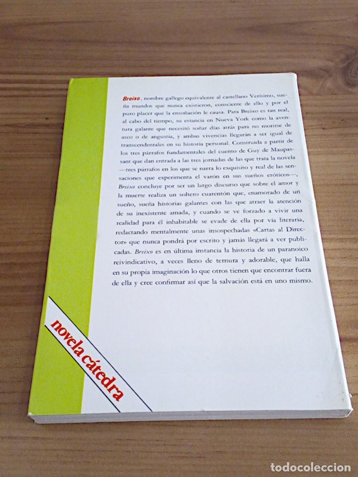 Libros de segunda mano: BREIXO. CONDE, ALFREDO. CÁTEDRA. 1 ª ED CASTELLANO 1981 - Foto 4 - 136227382
