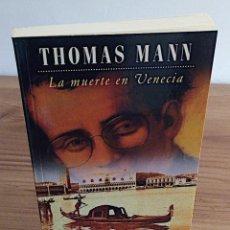 Libros de segunda mano: LA MUERTE EN VENECIA. THOMAS MANN. POCKET EDHASA 25. 2 ª ED 2005. Lote 136234318