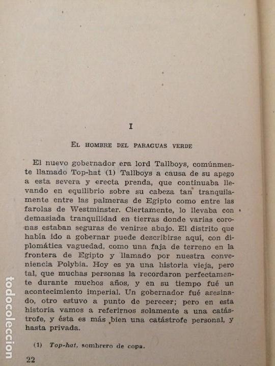 Libros de segunda mano: El club de los incomprendidos - G. K. Chesterton - Editorial Tartessos - Foto 2 - 136306310