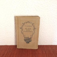 Libros de segunda mano: EL CLUB DE LOS INCOMPRENDIDOS - G. K. CHESTERTON - EDITORIAL TARTESSOS. Lote 136306310