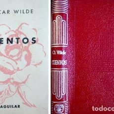 Libros de segunda mano: WILDE, OSCAR. CUENTOS. 1966 [«CRISOL»].. Lote 136362774