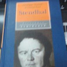 Libros de segunda mano: STENDHAL G.T. DI LAMPEDUSA EDIT PENÍNSULA AÑO 1996. Lote 136586334
