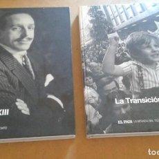 Libros de segunda mano: LA MIRADA DEL TIEMPO TOMOS 1 Y 7. Lote 136677866