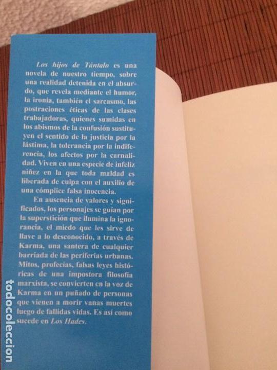 Libros de segunda mano: Los hijos de Tántalo - Manuel Montalvo - Ed. Clásicas - Foto 3 - 136740690