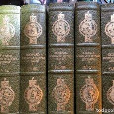 Libros de segunda mano: DICCIONARIO BOMPIANI DE AUTORES LITERARIOS 5 TOMOS COMPLETO. Lote 137120238