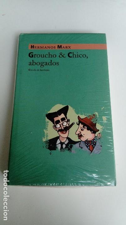 Usado, Groucho & Chico, abogados, Hermanos Marx, círculo de lectores. 746 gramos. Precintado. segunda mano