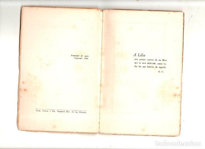 Libros de segunda mano: VIAJE A LA SEMILLA. ALEJO CARPENTIER. PRIMERA EDICION. LA HABANA, 1944. LEER. - Foto 3 - 137284802