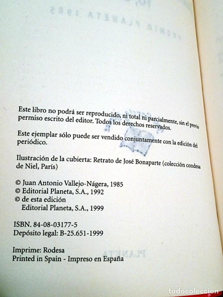 Libros de segunda mano: YO, EL REY. JUAN ANTONIO VALLEJO-NAGERA. COLECCIÓN PREMIO PLANETA. EDITORIAL PLANETA 1999 - Foto 5 - 137366402