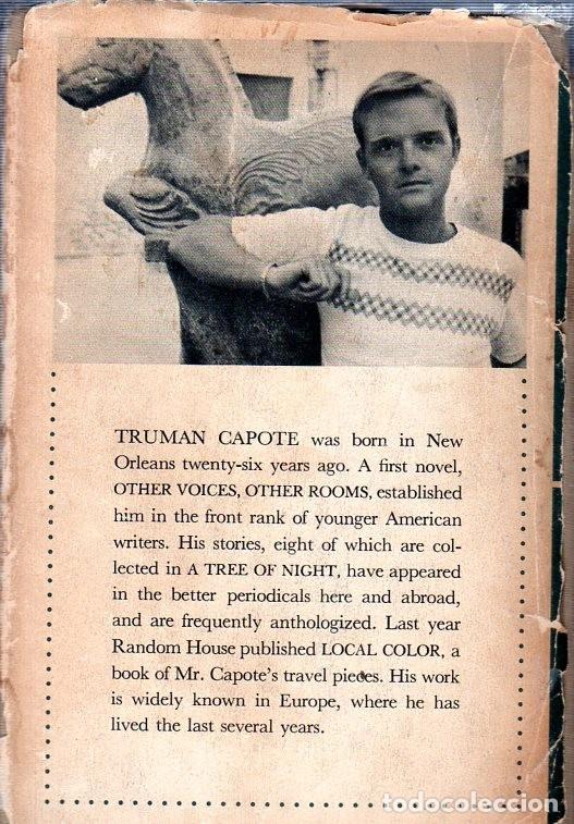 Libros de segunda mano: THE GRASS HARP. A NOVEL BY TRUMAN CAPOTE. 1ª EDICION. 1951. LIBRO EN INGLES. - Foto 5 - 137963682