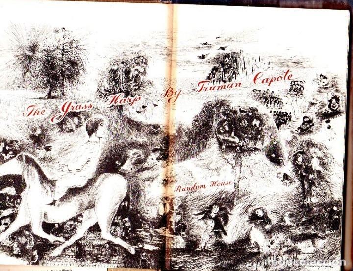 Libros de segunda mano: THE GRASS HARP. A NOVEL BY TRUMAN CAPOTE. 1ª EDICION. 1951. LIBRO EN INGLES. - Foto 3 - 137963682