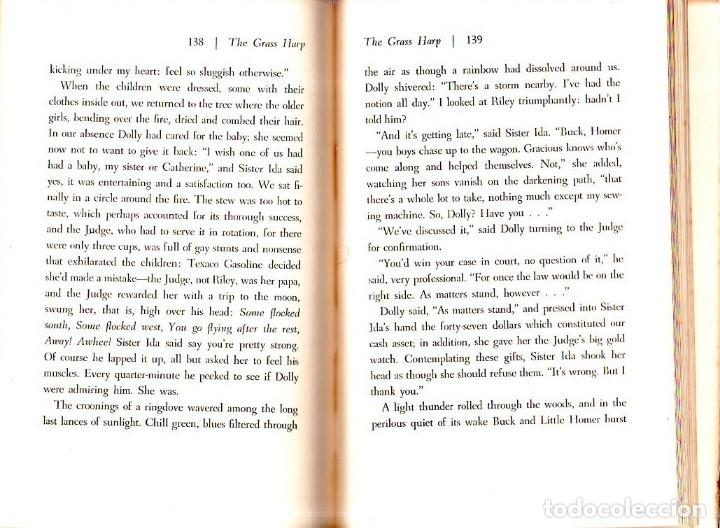 Libros de segunda mano: THE GRASS HARP. A NOVEL BY TRUMAN CAPOTE. 1ª EDICION. 1951. LIBRO EN INGLES. - Foto 4 - 137963682