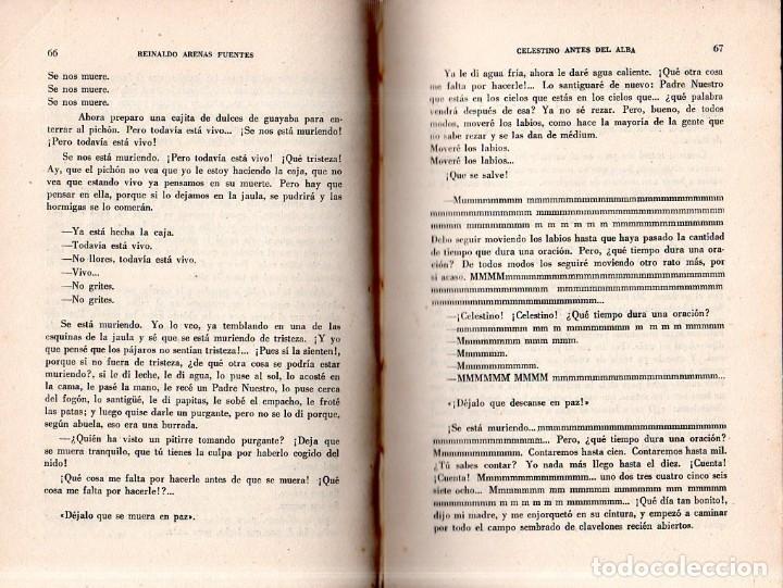 Libros de segunda mano: CELESTINO ANTES DEL ALBA. REINALDO ARENAS. 1967. EDICIONES UNION. VER. PERFECTO ESTADO. 1º EDICION - Foto 5 - 137978502