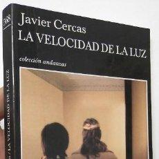 Libros de segunda mano: LA VELOCIDAD DE LA LUZ - JAVIER CERCAS. Lote 138180986