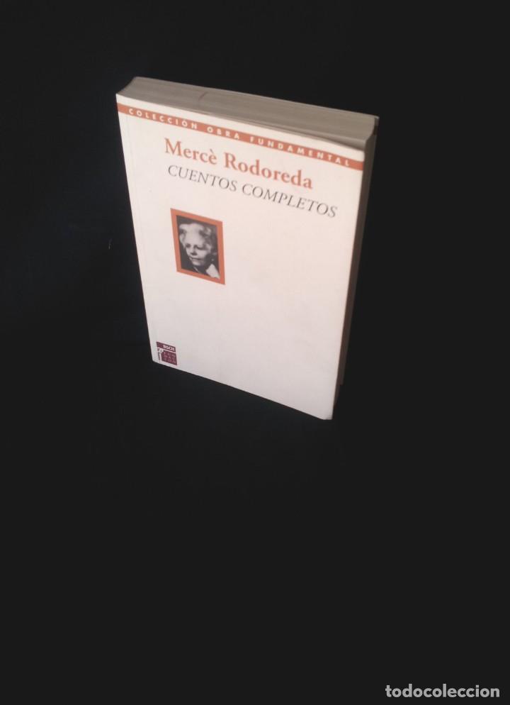 MERCE RODOREDA - CUENTOS COMPLETOS - COLECCION OBRA FUNDAMENTAL, FUNDACION BANCO SANTANDER 2002 (Libros de Segunda Mano (posteriores a 1936) - Literatura - Narrativa - Otros)