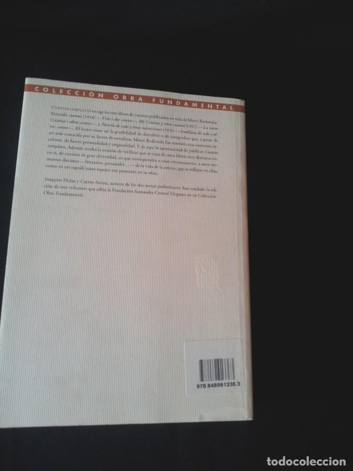 Libros de segunda mano: MERCE RODOREDA - CUENTOS COMPLETOS - COLECCION OBRA FUNDAMENTAL, FUNDACION BANCO SANTANDER 2002 - Foto 2 - 138567230