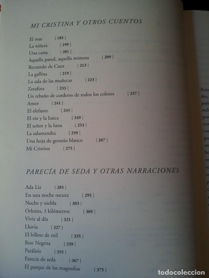 Libros de segunda mano: MERCE RODOREDA - CUENTOS COMPLETOS - COLECCION OBRA FUNDAMENTAL, FUNDACION BANCO SANTANDER 2002 - Foto 5 - 138567230