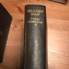 Libros de segunda mano: EMILIA PARDO BAZAN OBRAS COMPLETAS TOMO I AGUILAR 1973. Lote 138707854