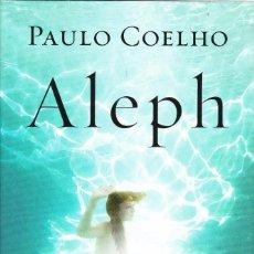 Libros de segunda mano: ALEPH PAULO COELHO. Lote 138817286