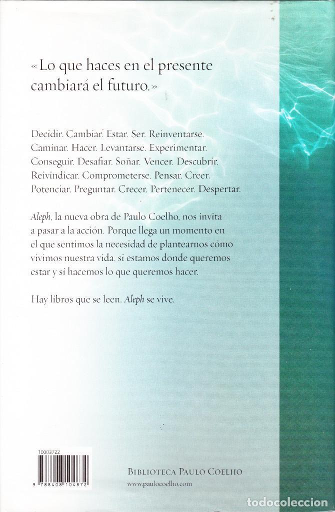 Libros de segunda mano: ALEPH PAULO COELHO - Foto 2 - 138817286