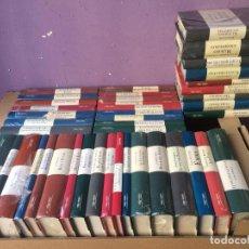 Libros de segunda mano: COLECCION DE 43 TOMOS GRANDES PASIONES DE LA LITERATURA - ORBIS FABRI -. Lote 138944658