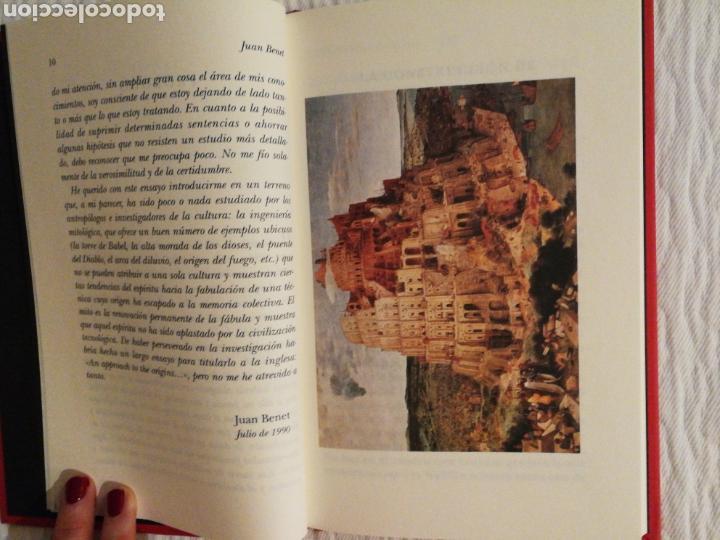 Libros de segunda mano: La construcción de la torre de Babel /Sobre la necesidad de la traición Juan Benet. 1ª ed 1990 - Foto 3 - 139080478