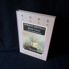 Libros de segunda mano: HERMAN MELVILLE - BENITO CERENO Y OTROS CUENTOS DEL MAR - AVATARES VALDEMAR 1999. Lote 139081050
