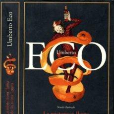 Libros de segunda mano: UMBERTO ECO : LA MISTERIOSA LLAMA DE LA REINA LOANA (LUMEN, 2005) PRIMERA EDICIÓN. Lote 139208578