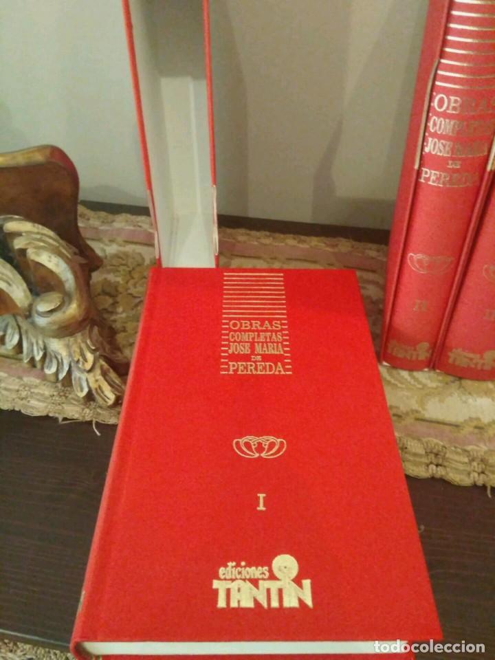 Libros de segunda mano: OBRAS COMPLETAS - JOSE MARÍA PEREDA - 11 VOLÚMENES - EDICCIONES TANTIN 1989 SANTANDER COLECCIONISTAS - Foto 3 - 139481074