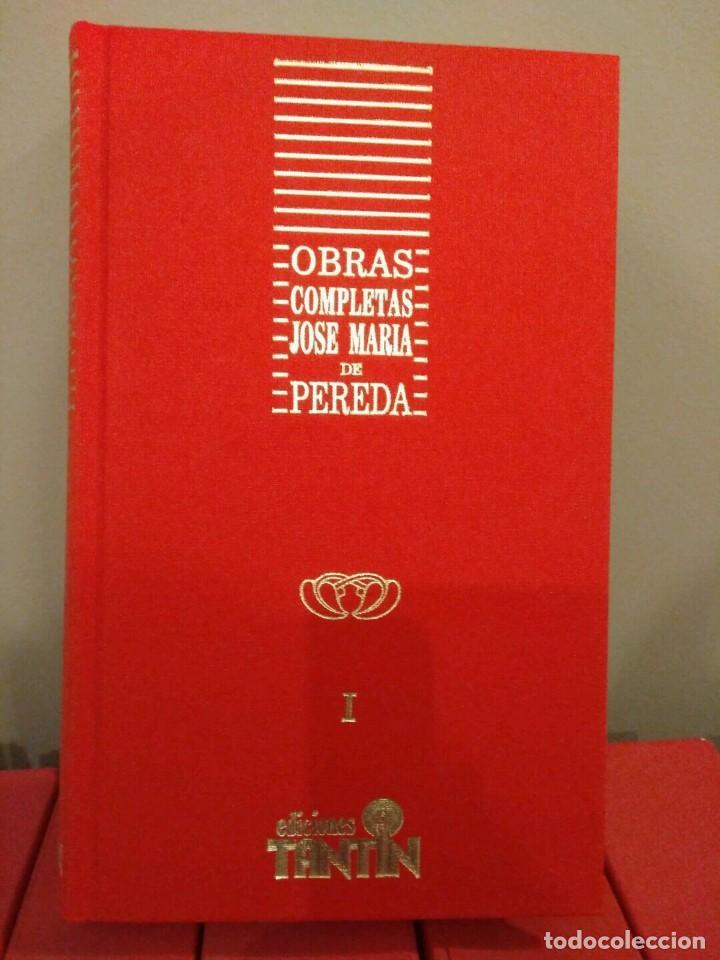 Libros de segunda mano: OBRAS COMPLETAS - JOSE MARÍA PEREDA - 11 VOLÚMENES - EDICCIONES TANTIN 1989 SANTANDER COLECCIONISTAS - Foto 6 - 139481074