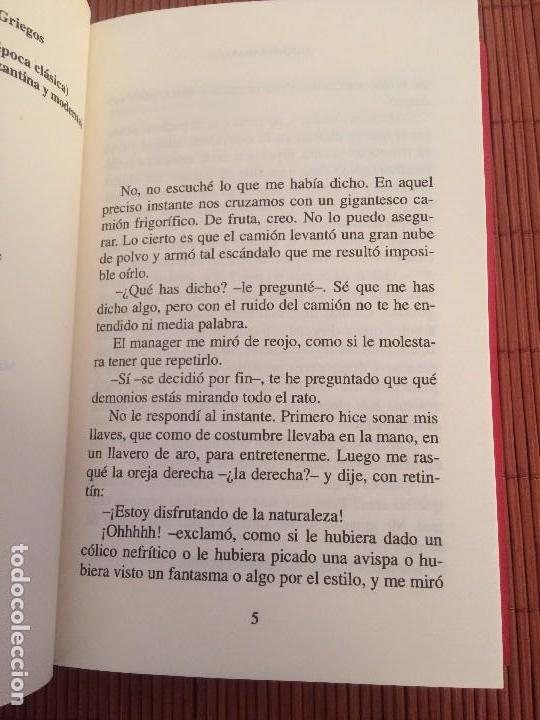 Libros de segunda mano: El fallo - Antonis Samarakis - Ed. Clásicas - Foto 2 - 139519710