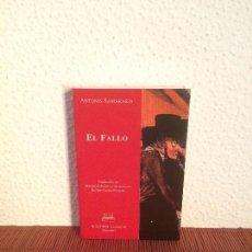 Libros de segunda mano - El fallo - Antonis Samarakis - Ed. Clásicas - 139519710